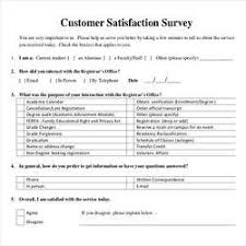 customer survey form processing form filling in main road