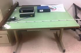 Mechanical Drafting Tables Mechanical Drafting Table 53 X37 Inches