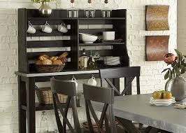 sideboards inspiring server hutch server hutch dining room hutch server hutch in rubberwood solids and charcoal finish inspiring server hutch