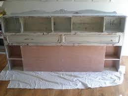 transformer un meuble ancien un cosy devient tete de lit nature camaïeu relooking de meubles