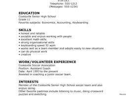 latest resume format 2015 for experienced crossword resume format for graduate template sle grad high how to