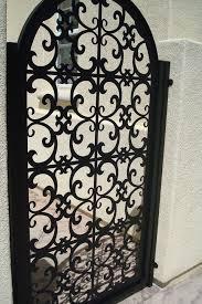 italian metal gate custom pedestrian walk entry garden iron