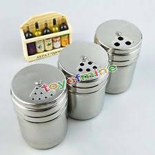 openbox portable stainless steel spice shaker seasoning dispenser