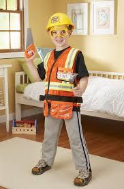excavator halloween costume amazon com melissa u0026 doug construction worker role play costume