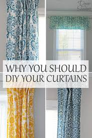 Diy Cheap Curtains Why You Should Diy Your Curtains Decor By The Seashore