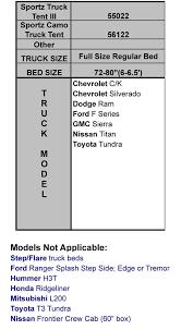 Ford Ranger Bed Dimensions Sportz Truck Tent Full Size Short Bed Napier Enterprises 57022