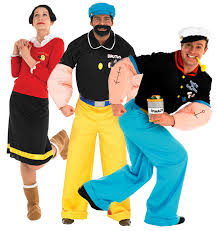 olive oyl costume popeye 1980s character olive oyl brutus 80s fancy dress