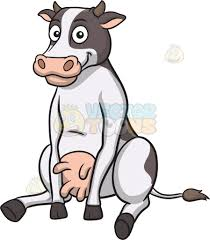 moo cow clipart cartoon images