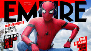 spider man empire u0027s exclusive spider man homecoming cover revealed news
