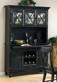 farmhouse buffet and hutch microwave carts with wine rack