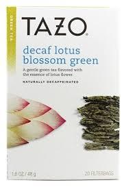 Lotus Flower Tea - buy tazo green tea decaffeinated lotus blossom 20 tea bags at