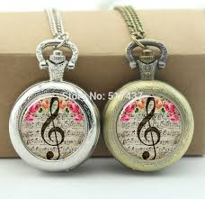 locket necklace aliexpress images Music note pocket watch clef jewelry photo locket necklace vintage jpg