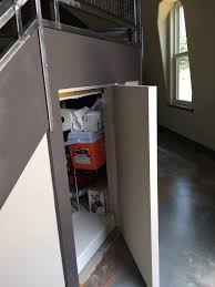Under Stairs Pantry by Life In A Sustainable Chapter Creative Storage Under Stair Pantry