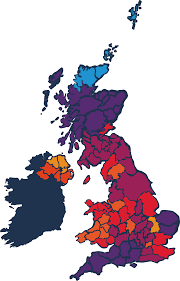 Where Is Wales On The Map Uk Tick Threat Map Big Tick Project