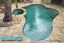 diamond brite exposed aggregate pool finishes pool u0026 spa news