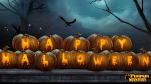 happy halloween on pumpkin hd picture images pictures photos