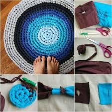 How To Make T Shirt Yarn Rug 24 Best Crochet T Shirt Yarn Images On Pinterest T Shirt Yarn