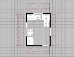 Designing A New Kitchen Layout This Kind Of One Wall Kitchen Design Layout Is Cheap And Is
