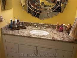 vanity bathroom tops genesis granite bathroom vanity top yellow
