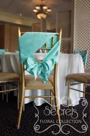 mint chair sashes blue mint turquoise satin sash wedding linens decoration
