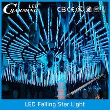 led shooting star lights hanging led storm falling shooting icicle star light buy hanging