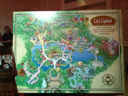 Animal World Map by New Wilderness Explorers Activity To Debut Soon At Disney U0027s Animal