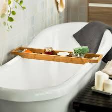 Wood Bathtub Caddy Design Wooden Bathtub Caddy U2014 The Decoras Jchansdesigns