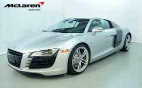 audi r8 2009 for sale 2009 audi r8 4 2l for sale in norwell ma 002946 mclaren boston
