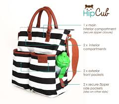black friday diapers amazon amazon com diaper bag by hip cub baby changing pad black