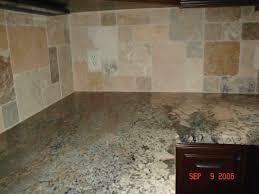 kitchen stone backsplash ideas with dark cabinets powder room