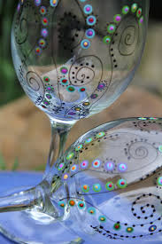 best 25 painted wine glasses ideas on pinterest hand painted