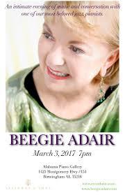 an evening with beegie adair birmingham al tickets fri mar 3
