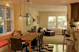 dining room recessed lighting home interior design