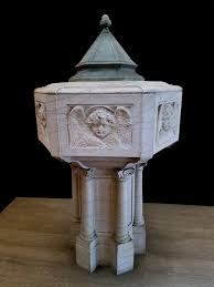 baptismal fonts antique marble baptismal font with sold