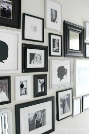 Gallery Wall Frames by Hallway Gallery Wall Crazy Wonderful