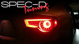 Specdtuning Installation Video 2013 Scion Frs And Subaru Brz Led