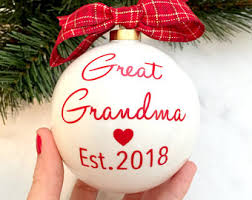 grandparent christmas ornaments pregnancy announcement onesie for grandparents hello