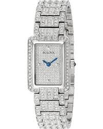 bulova watches ladies bracelet images Summer shopping deals on bulova women 39 s 96l244 swarovski crystal