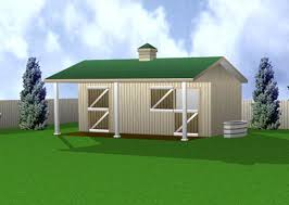 Barn Building Plans Twin Stall Horse Barn 12 U0027 X 24 U0027 Building Plan For The Barn