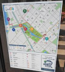 Map Central Park Songdo Central Park And Lake Canoes Boats Bikes And More