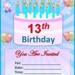 birthday party invitation templates free download 30 kids birthday