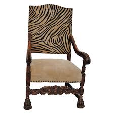 Tall Back Chairs by Antique European Hand Carved Tall Back Chair Newly Upholstered