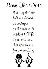 Funny Save The Date Save The Date A Funny Poem Free Announcement Ecards Greeting