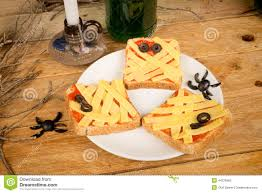 appetizers for halloween party halloween appetizers stock photo image 44376965
