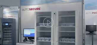 temperature controlled medication cabinet autosecure secured medication storage for hospitals talyst