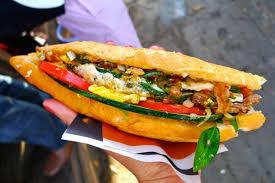 cuisine vietnamienne banh mi le sandwich vietnamien nouvelle mode de la cuisine de rue