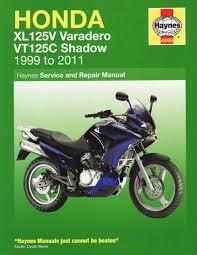 honda xl125v u0026 vt125c shadow service and repair manual 2000 2010