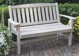 lifestyle poly resin mission bench outdoor furniture garden