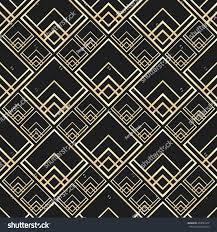 Art Deco Style Vector Seamless Pattern Art Deco Style Stock Vector 453037672
