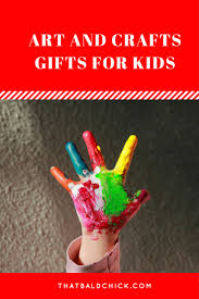 arts and crafts gifts for kids that bald